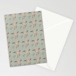 Hokusai Cuckoo and azaleas 2 -hokusai,manga,japan,Katsushika,cuckoo,azaleas,Rhododendron Stationery Cards