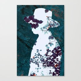 Man nature leaf Canvas Print