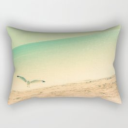 Beach is where I belong Rectangular Pillow