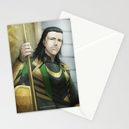 Thor 2 - Loki Print Stationery Cards