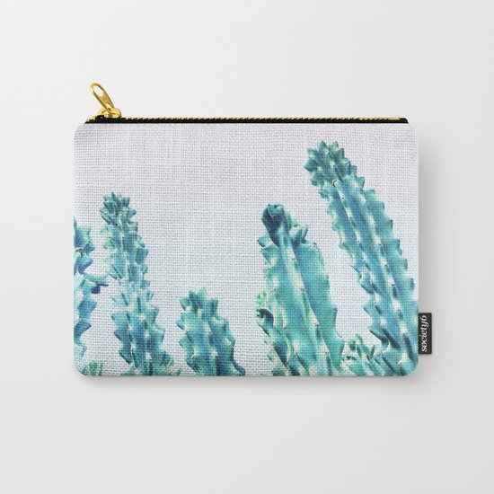 California Cactus #society6 #decor #buyart Carry-All Pouch