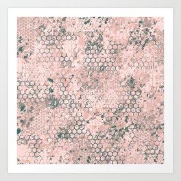Blush Odyssey Art Print