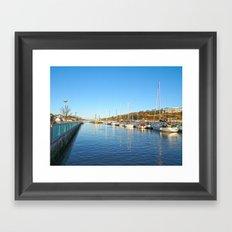 Waterford City Quayside  Framed Art Print