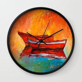 Boat Wall Clock