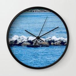 Port St. Joe Marina view 26a Wall Clock