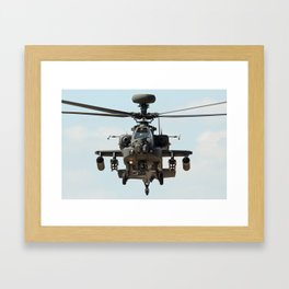 Apache - Face to Face Framed Art Print
