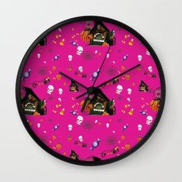 Tricks and Treats Wall Clock