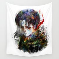 titan Wall Tapestries featuring strongest by ururuty