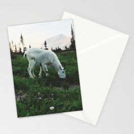 Mountain Goat at Logan Pass Stationery Cards