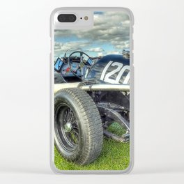 GN Instone Special  Vintage Racing Car Clear iPhone Case