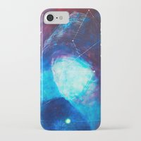constellation iPhone & iPod Cases featuring constellation by Oana Popan