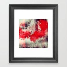 A Season Of Rough Waters Framed Art Print