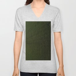 Rural Corn Fields Unisex V-Neck