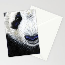 Panda Bear ' PANDA ' by Shirley MacArthur Stationery Cards