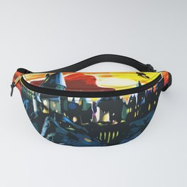 A Magic School Fanny Pack