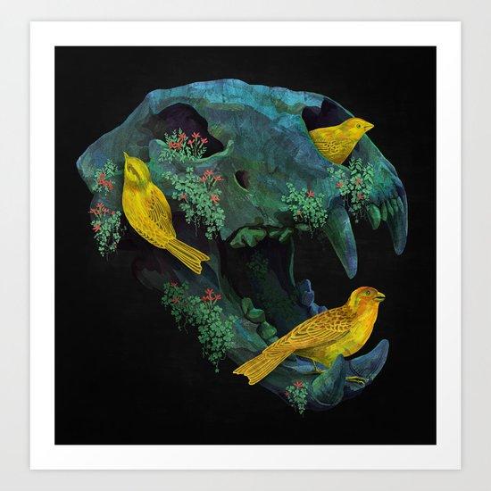 Three Little Birds Art Print