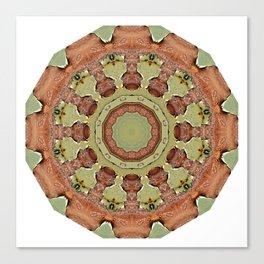 Rust-Mandala 712_R_2, Colors of Rust Canvas Print