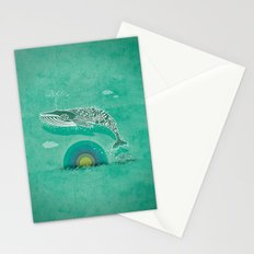 Whale Future Stationery Cards