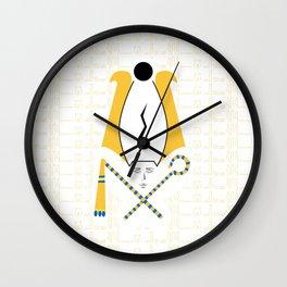 Osiris Blessing Wall Clock
