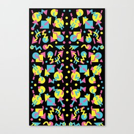 Party Pattern Canvas Print