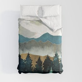 Forest Mist - Custom Horizontal Comforters