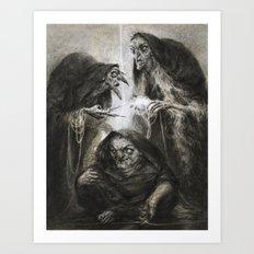 The Moirai Art Print