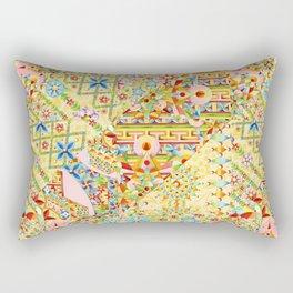 Sunshine Crazy Quilt (printed) Rectangular Pillow