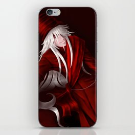 Undertaker in Red iPhone Skin