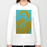 u2 Long Sleeve T-shirts featuring Bono - U2 by Tipsy Monkey