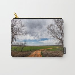 Take Me Home - Old Country Road in Oklahoma Carry-All Pouch