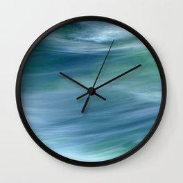 AQUA VITA dyptych, part II Wall Clock