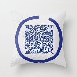 W Galleries Poster Throw Pillow