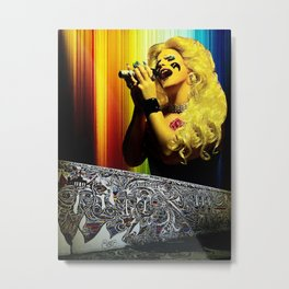 Midnight Radio - Hedwig and the Angry Inch Metal Print