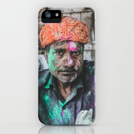 Vrindavan, India III iPhone Case