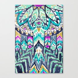 Parrot Tribe Canvas Print