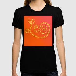 Leo Sun Sign  T-shirt