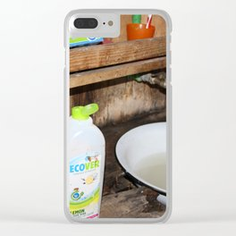 Save Water Drink Rakija Clear iPhone Case