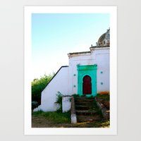 morocco Art Prints featuring Morocco by Jennifer McMartin
