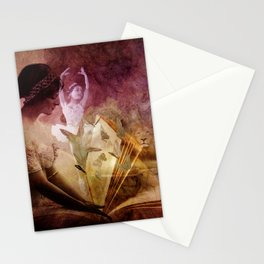 All of her days are written in His Book. Stationery Cards