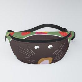 Cute Garden Mole Fanny Pack