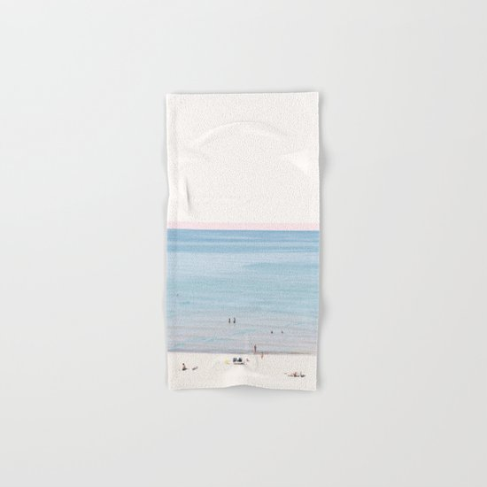 A Day at The Beach #society6 #decor #buyart Hand & Bath Towel
