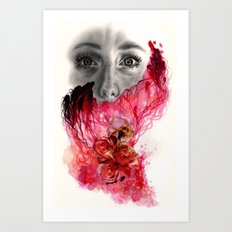 Amnesiac  Art Print