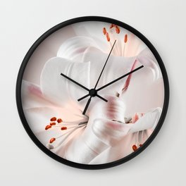 Regale lilies Wall Clock