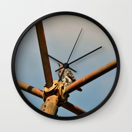 This is my kingdom, and I rule with an iron wing! Wall Clock