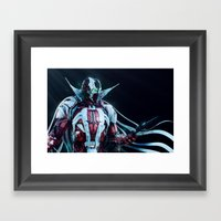 Spawn Horizontal2 Framed Art Print