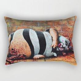 Humpty no more Rectangular Pillow