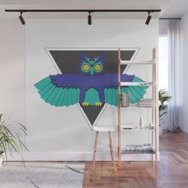 EDC Owl Wall Mural