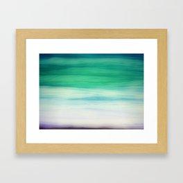 Sea abstract Framed Art Print