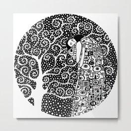 Gustav Klimt - The tree of life Metal Print