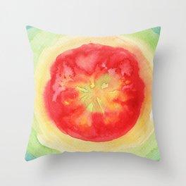 Fresh Tomato Throw Pillow